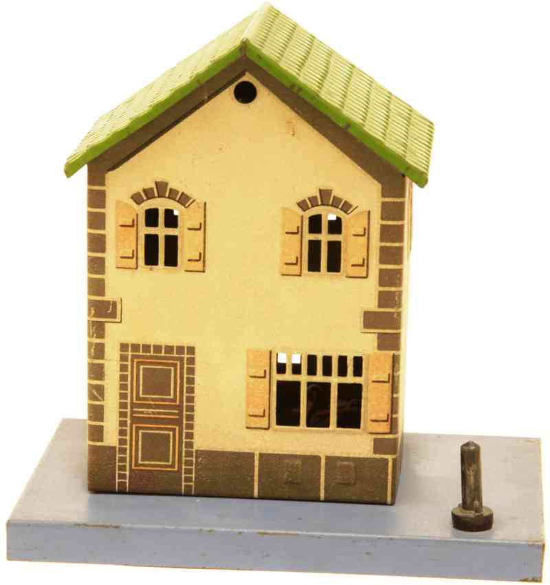 bing 10/6187 railway toy line keeper's lodge signalman's house