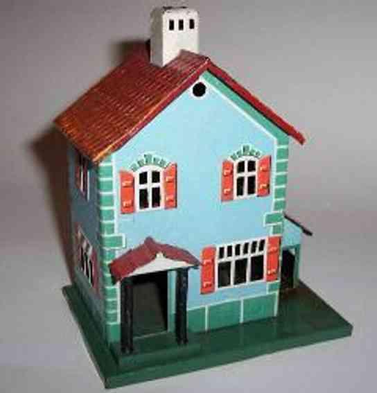 Bing 10/681 Bahnwärterhaus mit kleinem Anbau
