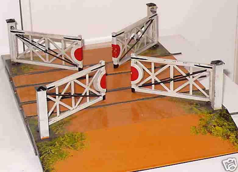 bing 13636/1 spielzeug eisenbahn englischer doppelgleisbahnuebergang