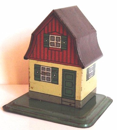 karl bub 926/9 railway toy warden house without signal and without bank