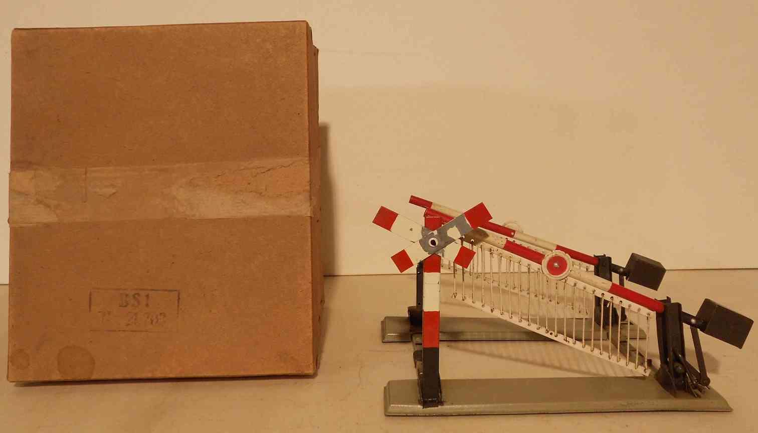 ditmar bs1 21.702 railway toy barrier system gauge 0