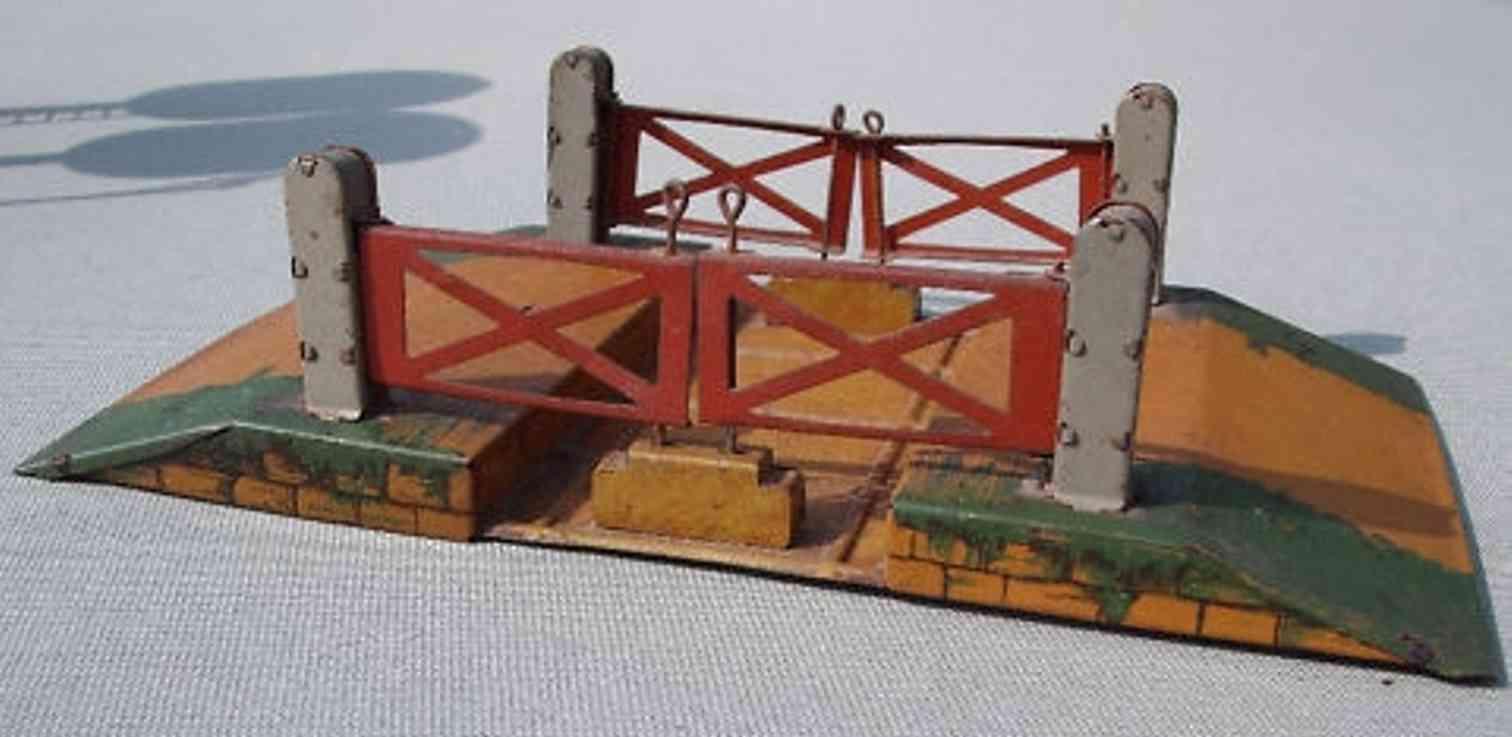 fischer heinrich railway toy crossing