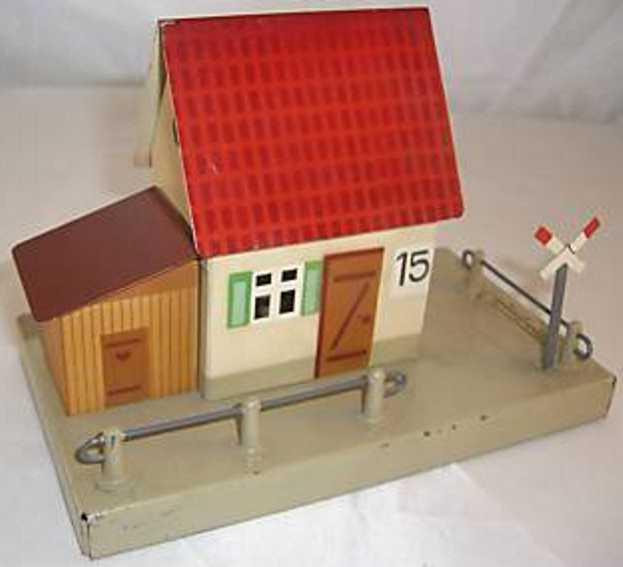 fleischmann 585 railway toy line keeper's lodge signalman's house