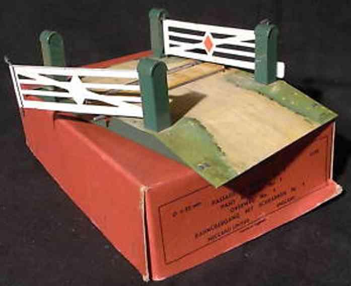 hornby 1 spielzeug eisenbahn bahnübergang mit 2 schranken