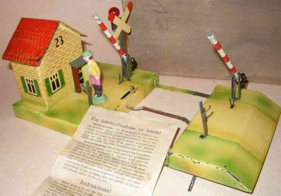 kibri 1/43/54 spielzeug eisenbahn bahnuebergang