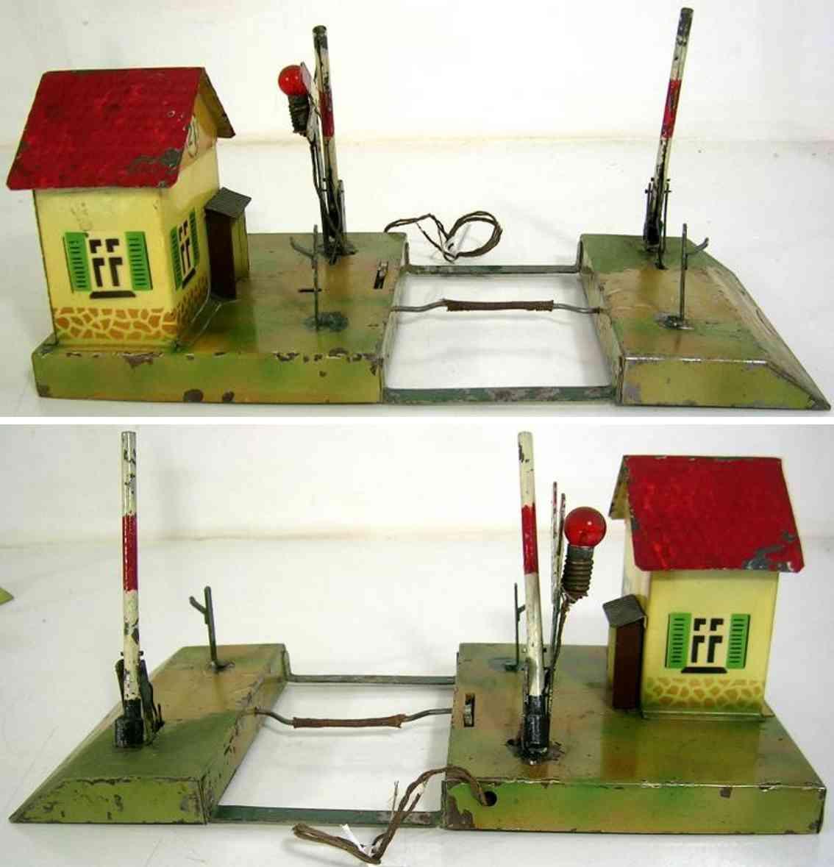 kibri 1/43/54 B bahnuebergang warnkreuz elektrische lampe