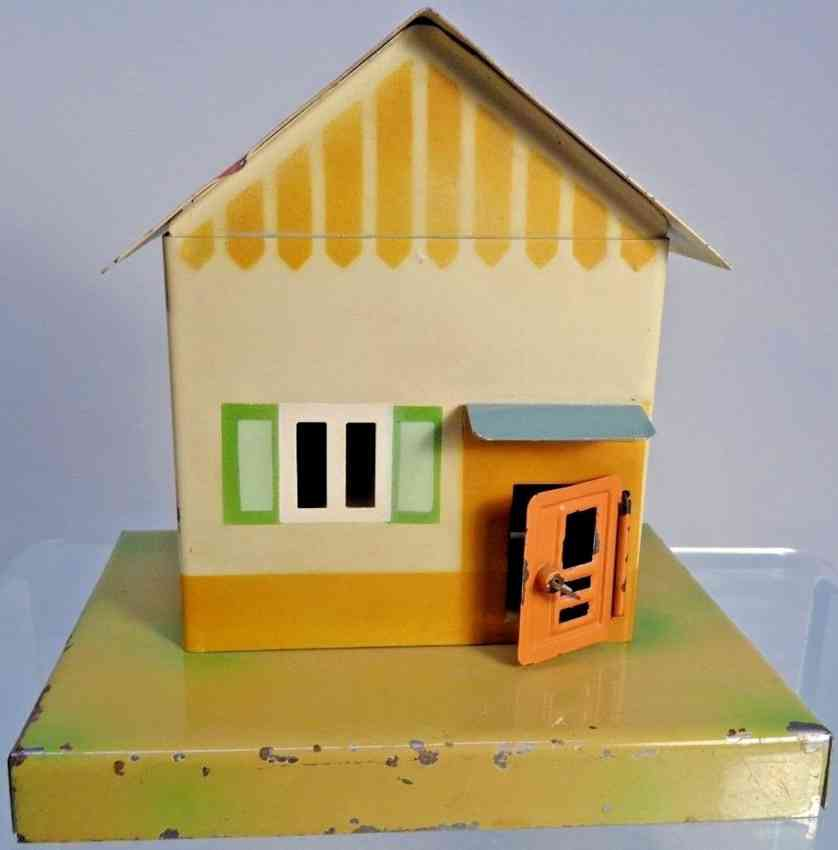 kibri 47/5 1/2 railway toy line keeper's lodge warden house with gable roof 25