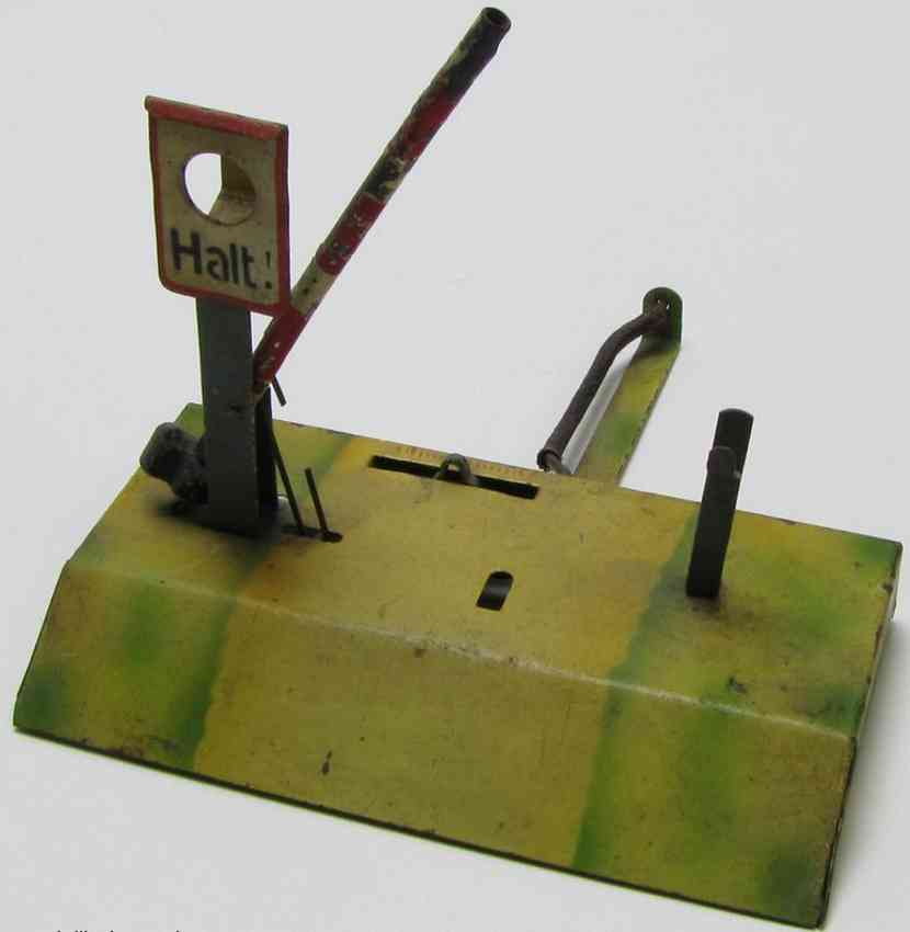 kibri 5/54/1 railway toy line keeper's lodge railway barrier hold sign remote control record