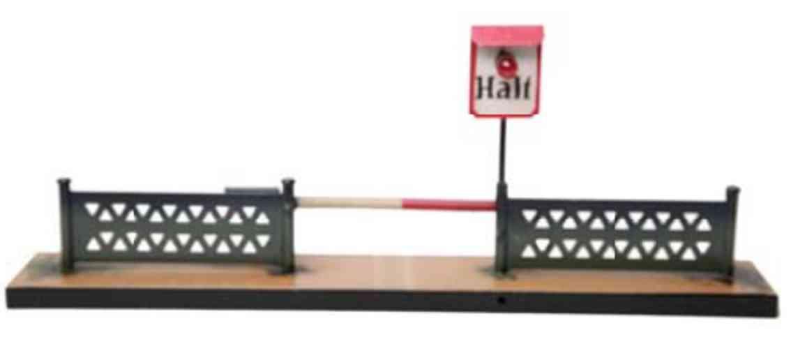 kibri 54/3 railway toy railway barrier