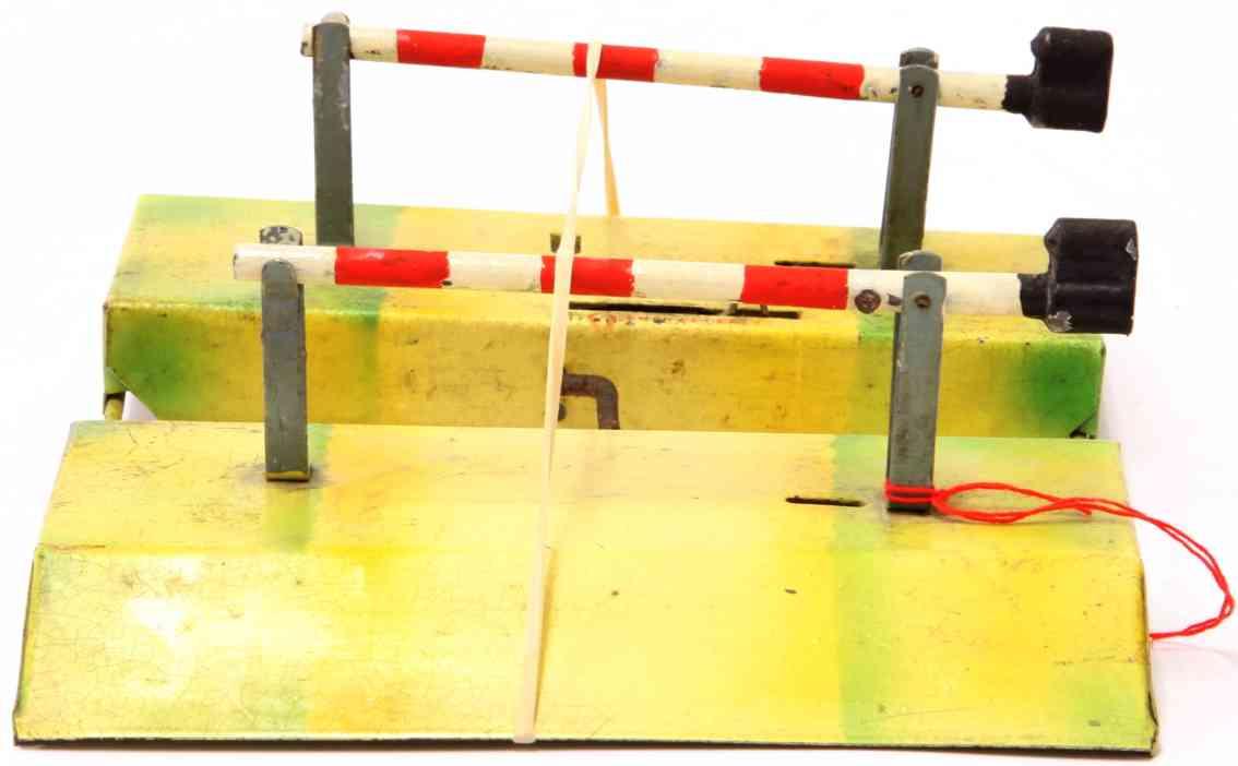 kibri 8/54/2 toy line keeper's lodge double railway barrier