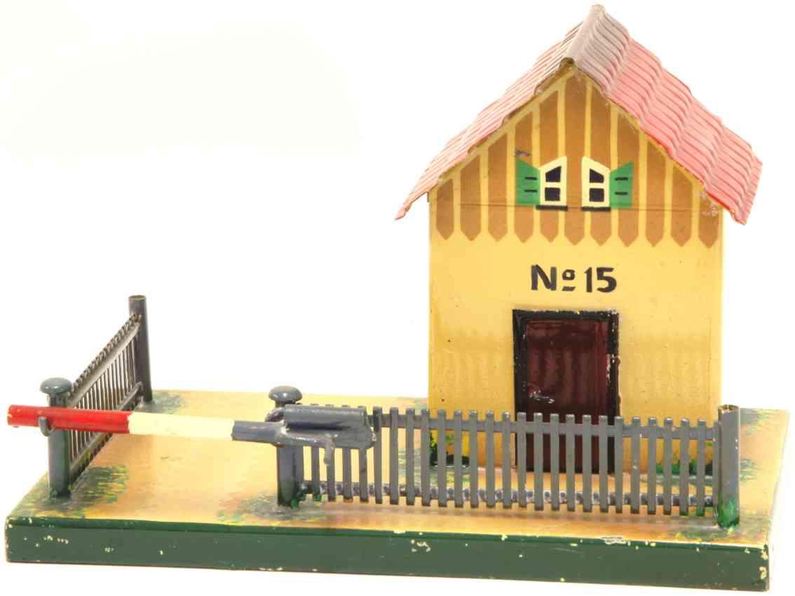 kibri 50/00 railway toy line keeper's lodge railway keeper's house