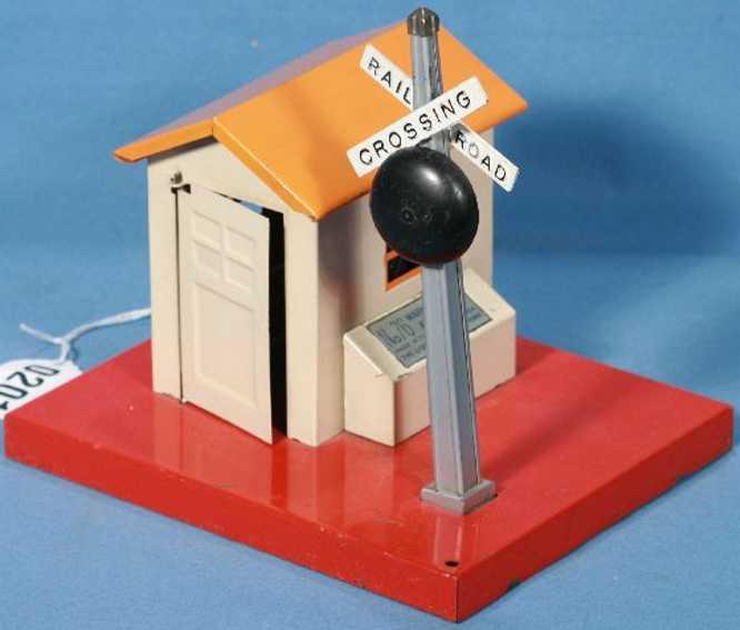 lionel 76 railway toy line lodge warning bell shack bell crossing railroad