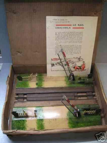 Le rail crocodile Bahnübergang