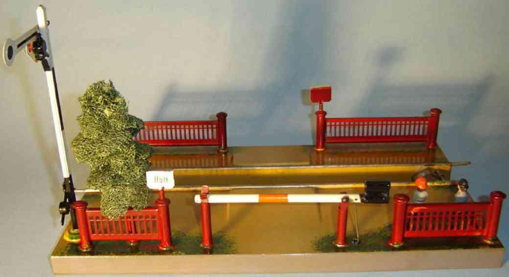 maerklin 2191 spielzeug eisenbahn bahnuebergang
