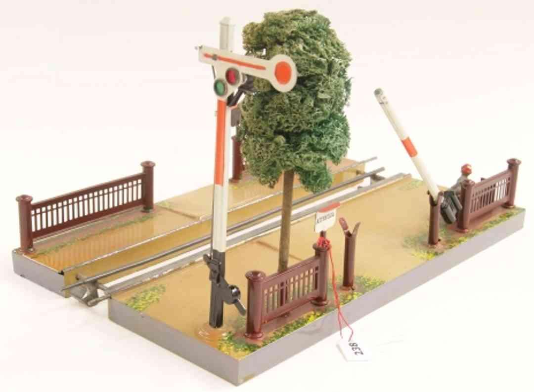 maerklin 2192 spielzeug eisenbahn bahnuebergang