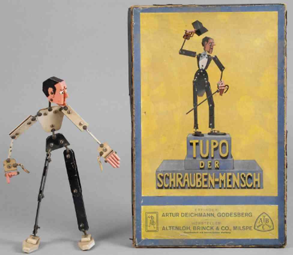 altenloh,brinck,&,co metal kit tupo the screw man inventor arthur deichmann
