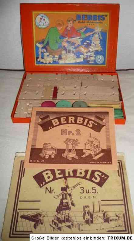 berbis 2 wooden toy kit timber construction caste