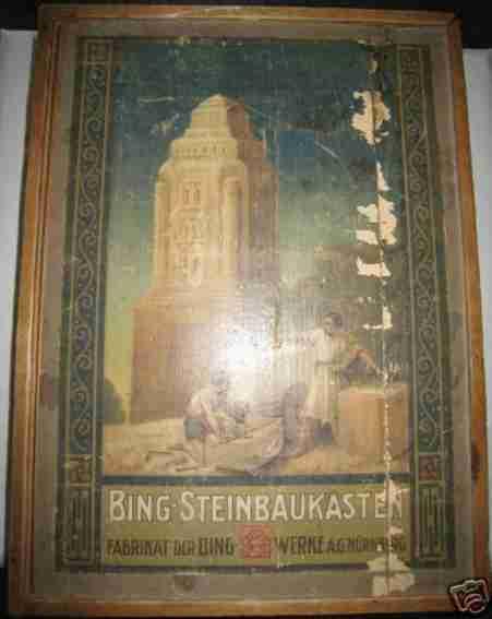 Bing Steinbaukasten zweilagig
