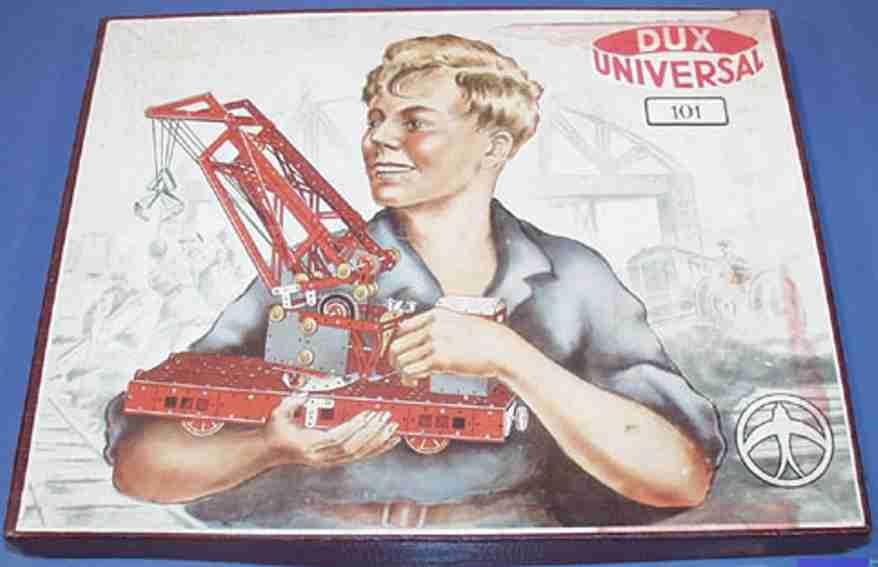 dux 101 metall baukasten universal 101, 80-seitiges anleitungsbuch