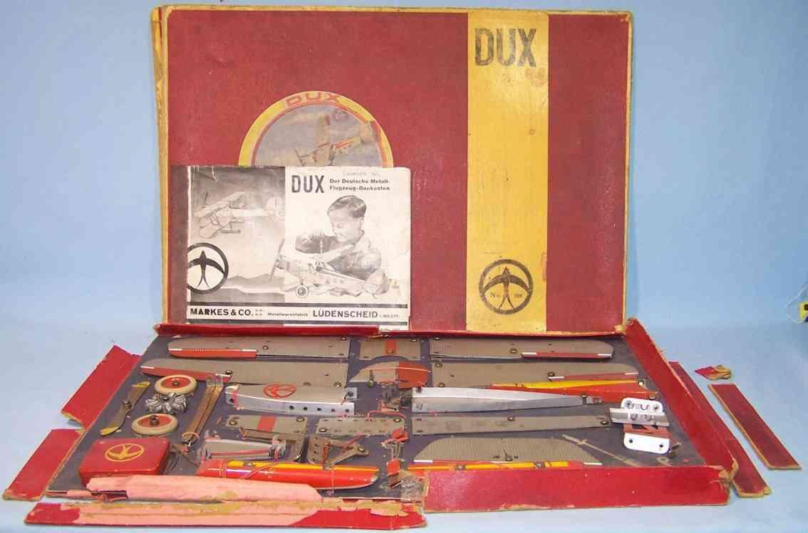 dux 108 metall flugzeug-baukasten