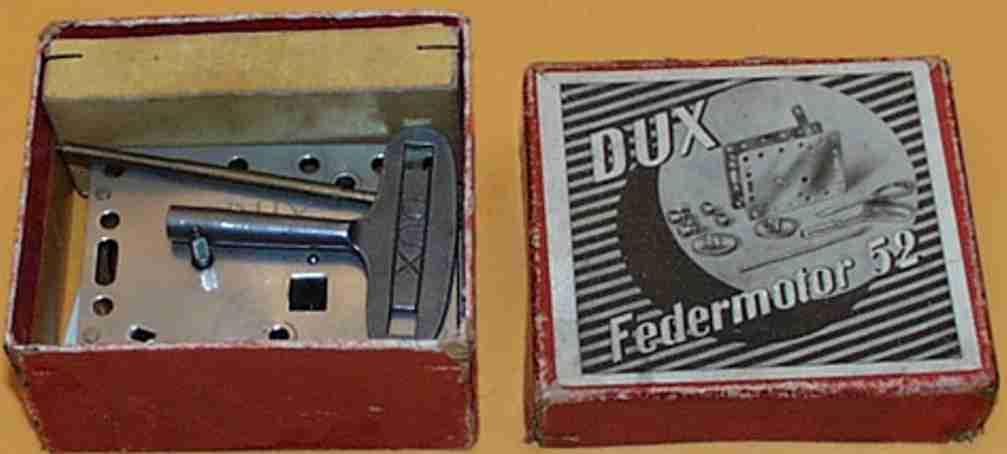 DUX 52 Federmotor