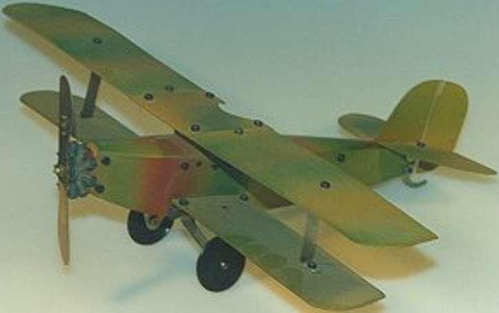 dux metall baukasten flugzeug