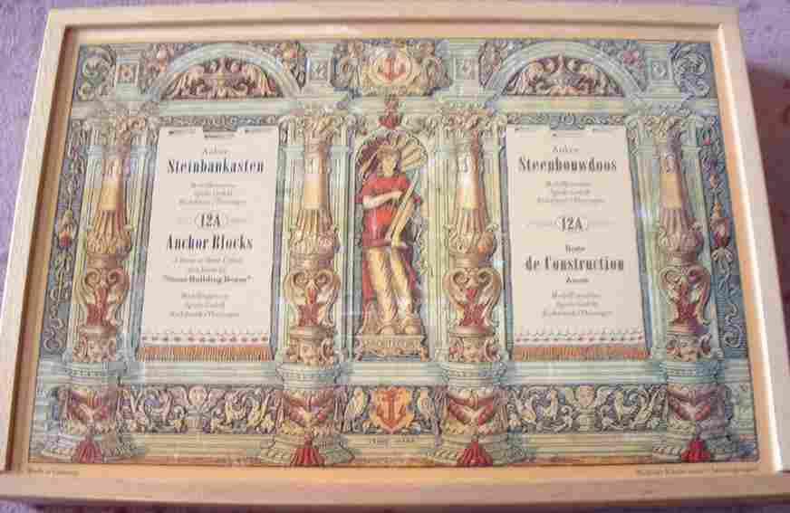 Richter F. Ad. 12A Holzbaukasten