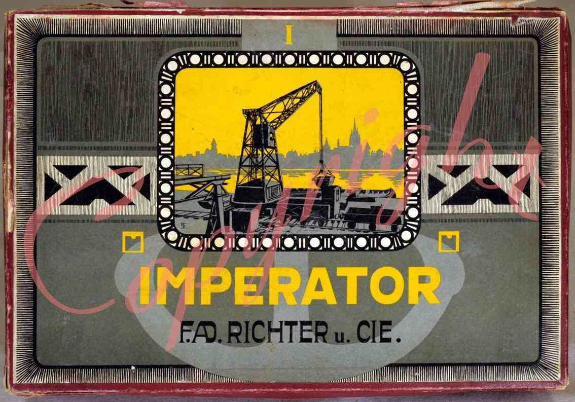 Richter F. Ad. 1 Metallbaukasten Imperator