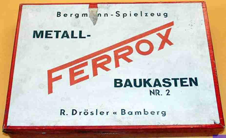 ferrox 2 metall baukasten baukasten
