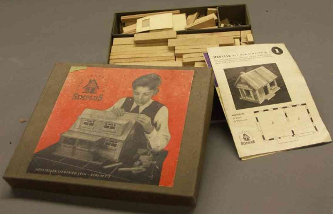 lein siegfried 3 wooden toy kit model component system simplus