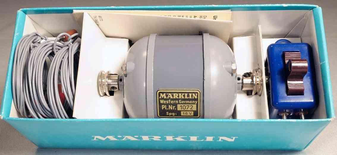 maerklin 1072 metall baukasten elektromotor 16 volt für baukaesten