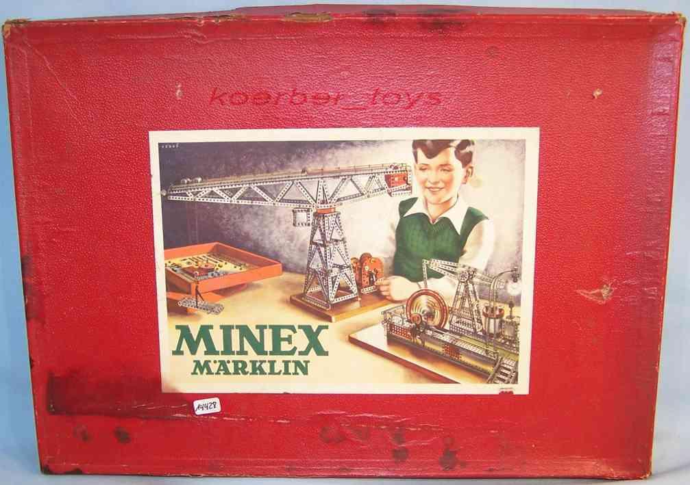Märklin 02/A MinexModell-Metallbaukasten