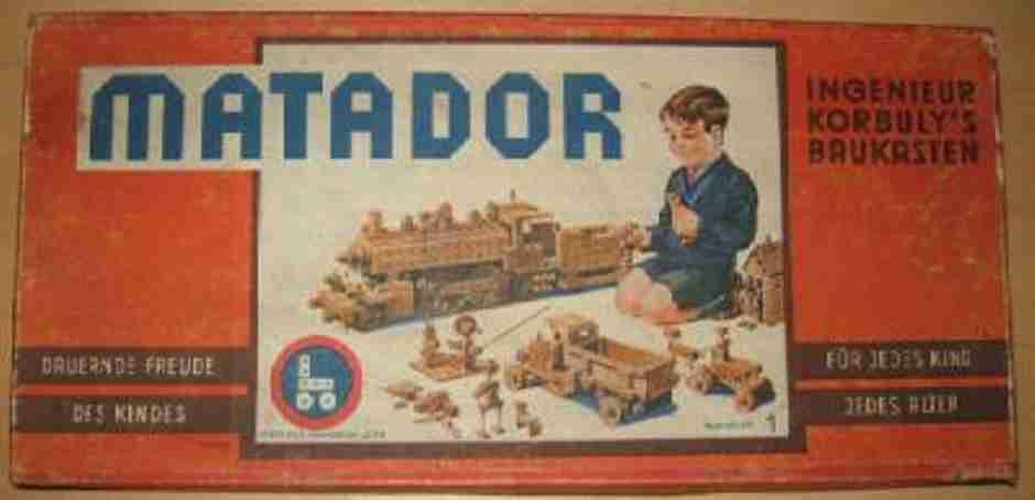 Matador 1 Holzbaukasten