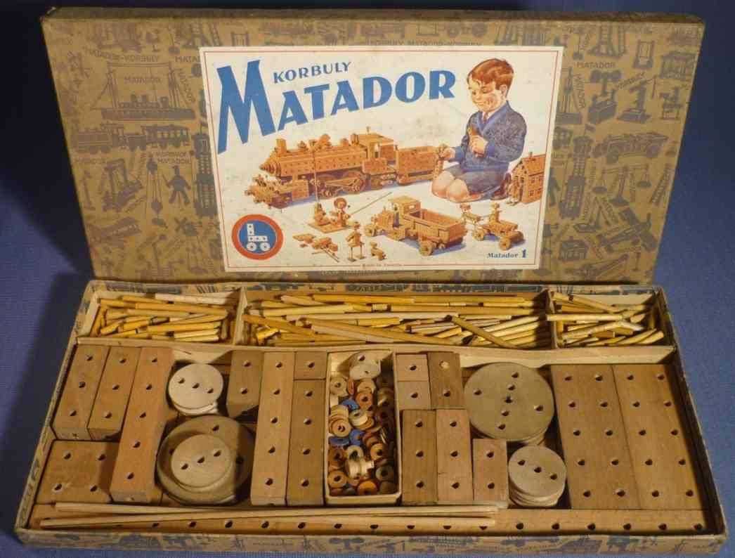matador 1 spielzeug holzbaukasten korbuly