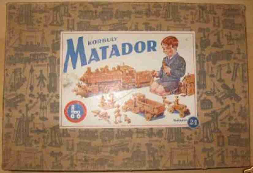 Matador 24 Holzbaukasten