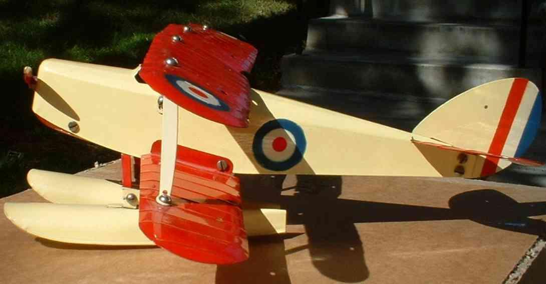 meccano erector 0 blech spielzeug baukastenflieger flugzeug
