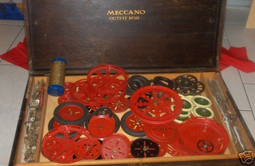 Meccano Erector 10 Baukasten