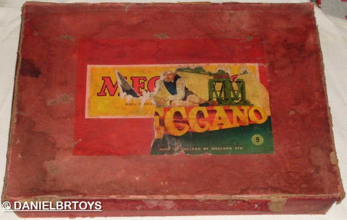 Meccano Erector 9 Baukasten