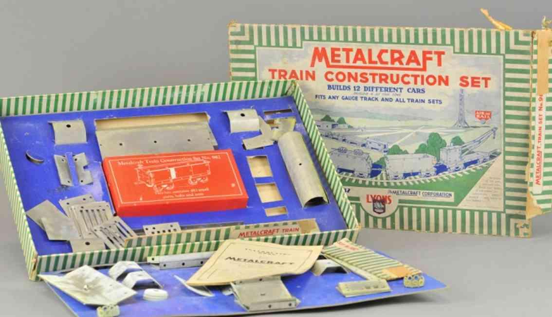 metalcraft corp st louis 982 metall baukasten konstruktionsset
