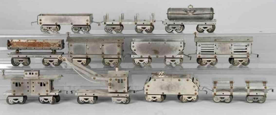 metalcraft corp st louis metall baukasten little jim baukastenzug, wurde für die little jim jcpenney l