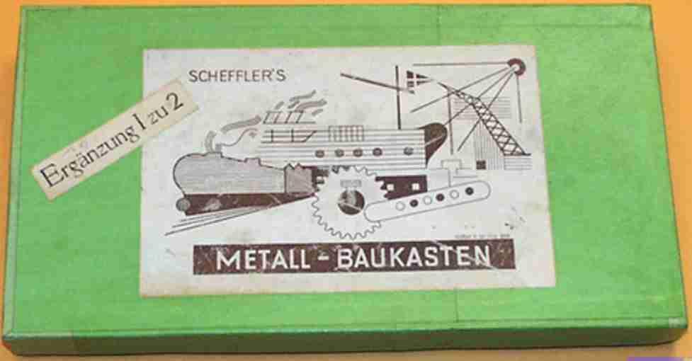 Scheffler/Burgstädter 1a Baukasten Ergänzungskasten