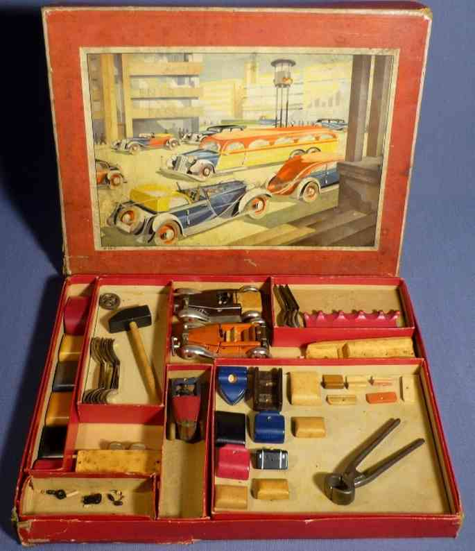schowanek toy car wooden kit