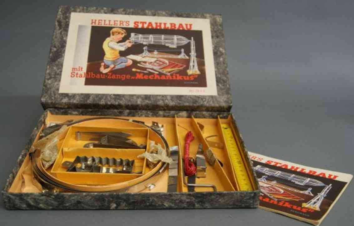 schuhmann,adolf 1940 metall baukasten hellers stahlbau mechanikus
