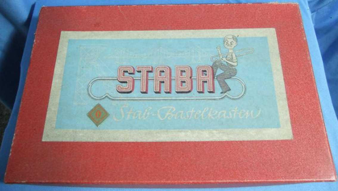Staba 0 Metallbaukasten Bastelkasten