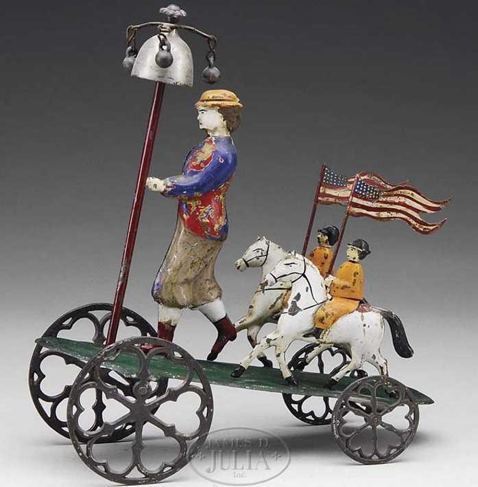 althof bergmann & co Patriotic bell 8,75 blech spielzeug patriotisches glockenspielzeug ist ein stück einer ganzen se