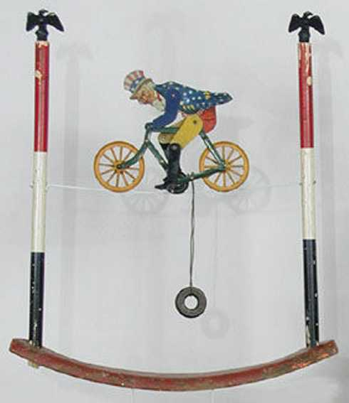 American Flyer Uncle Sam bicycle act