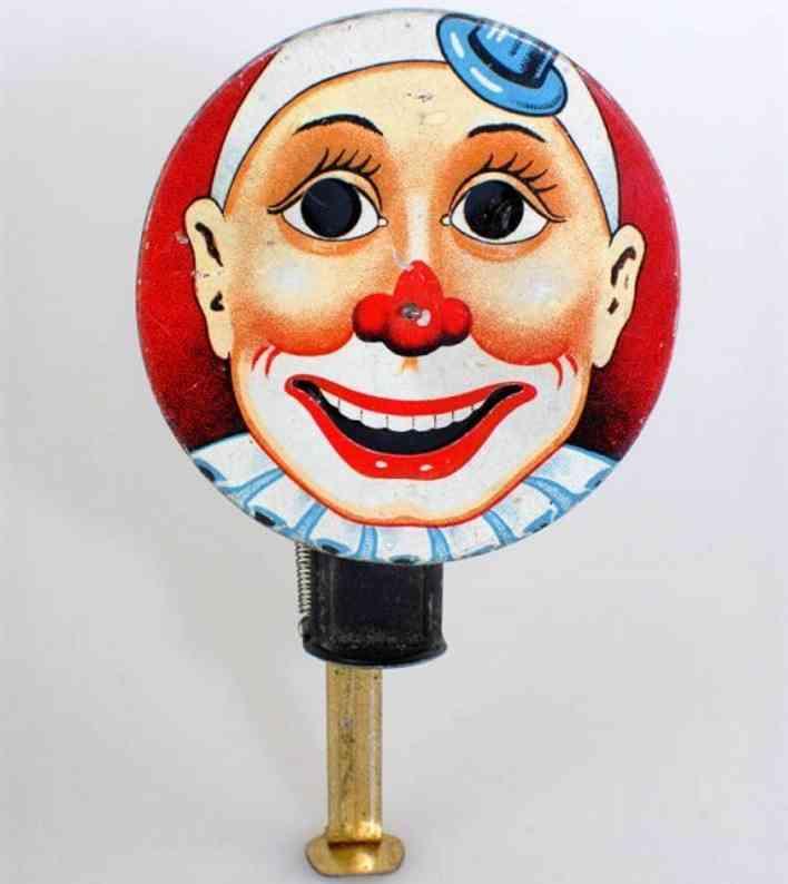arnold blech spielzeug clown funkenrad mit antrieb