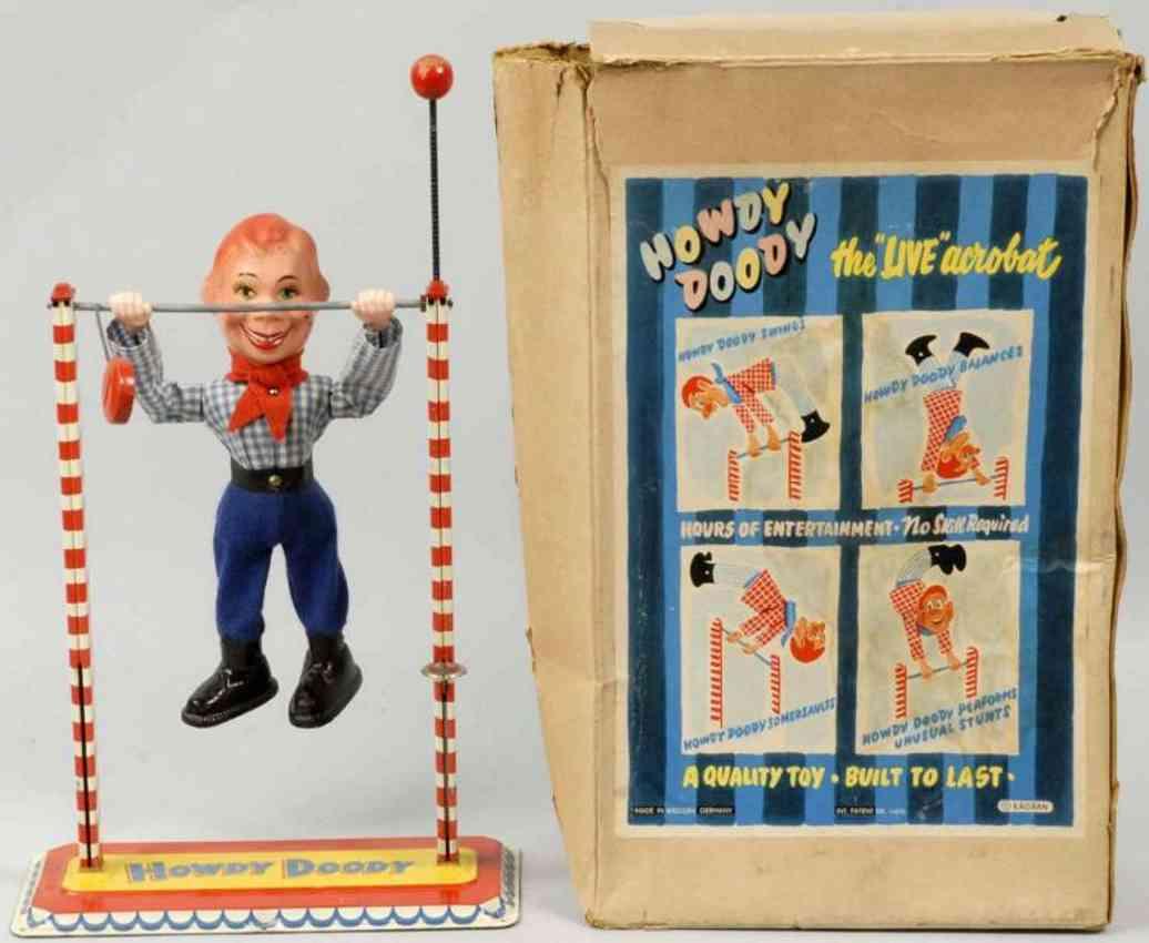 arnold blech spielzeug howdy doody akrobat