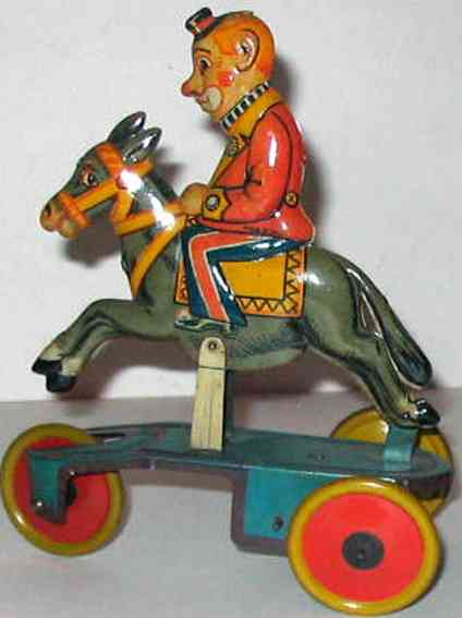 Bell Italy Clown on horse