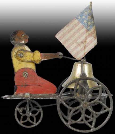 Bell Toy kniende Figur mit Glocke